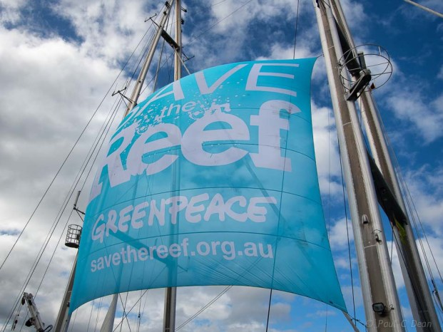 'Save the Reef' campaign.