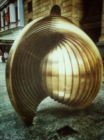 Gestation by Balie Oakes - Dedicated to those who work for world peace. Recently relocated to Queen St Mall